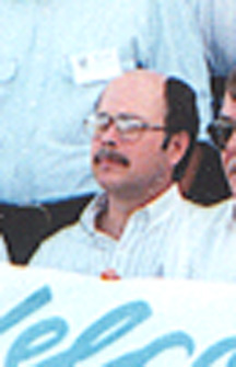 Mike Alexander at the 25th Pueblo Reunion in July 1993 at Pueblo Colorado.